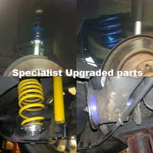 Specialist parts